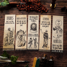Greek Mythology Bookmark Set