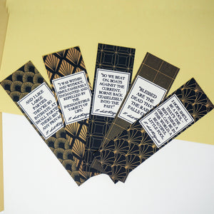 The Great Gatsby Bookmarks