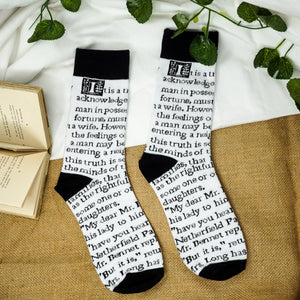 Pride and Prejudice Socks