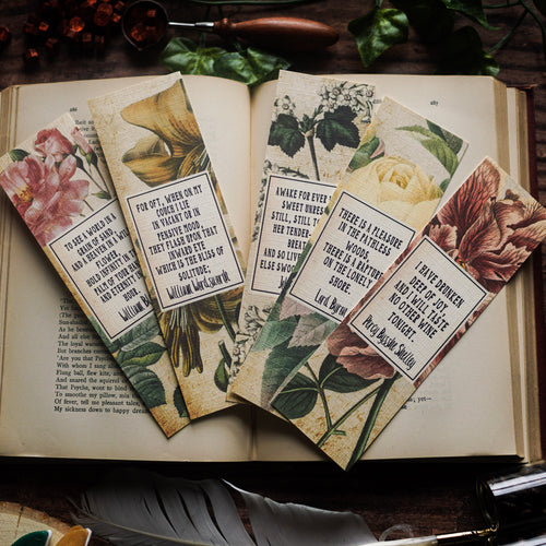 Romantic Poets Bookmarks