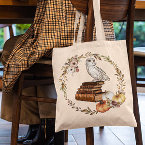 Autumn Owl Tote Bag