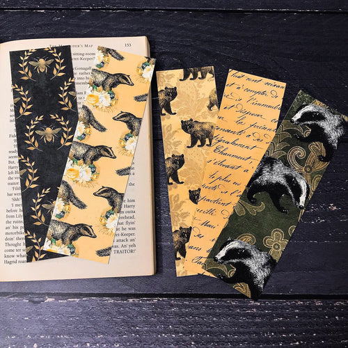 Badger Bookmark Set