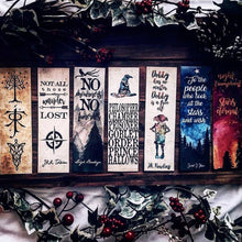 Harry Titles Bookmark