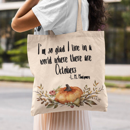 Anne of Green Gables 'Octobers' Tote Bag