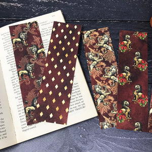 Lion Bookmark Set