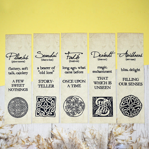 Irish Words Bookmarks