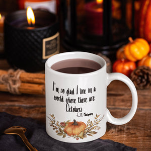 Anne of Green Gables 'October' Mug