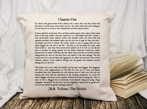 In a Hole Page Pillow