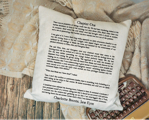 Jane Eyre Page Pillow