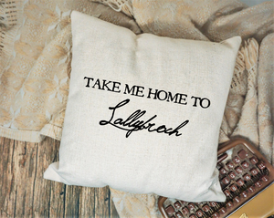 Lallybroch Pillow