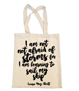 Little Women Tote Bag - Storms