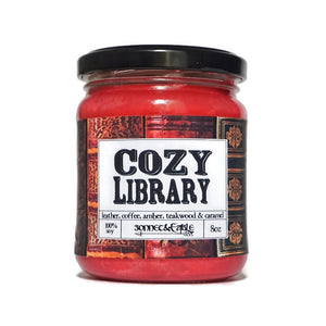 Cozy Library Candle