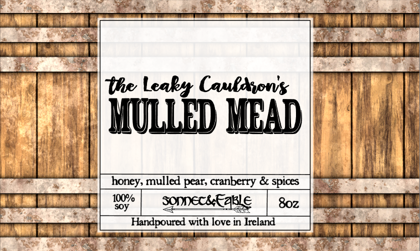 The Leaky Cauldron's Mulled Mead Candle