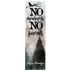 No Mourners Bookmark 2