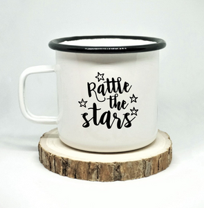 Rattle the Stars Enamel Mug