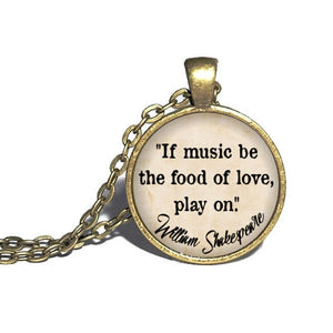 Shakespeare - Music be the food of love