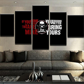 2nd Amendment Warning - It Make Your Day