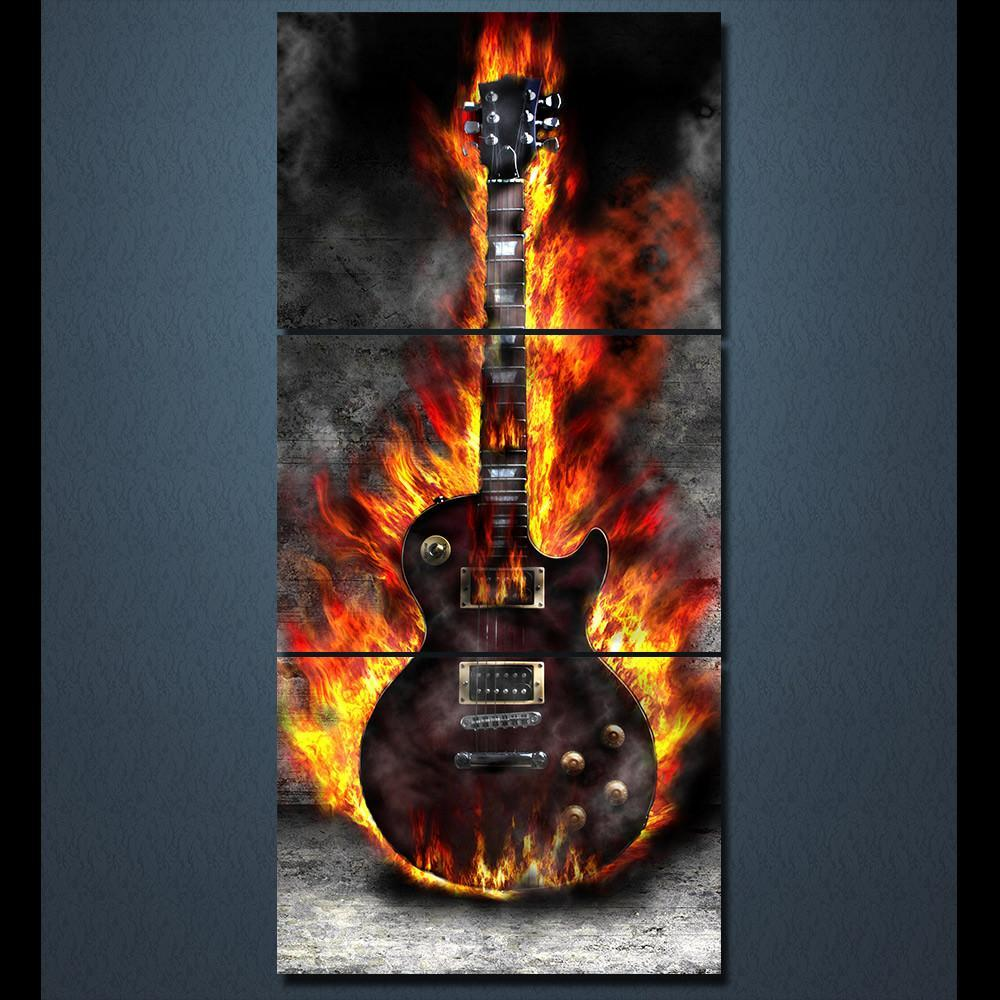 Burning Guitar - It Make Your Day
