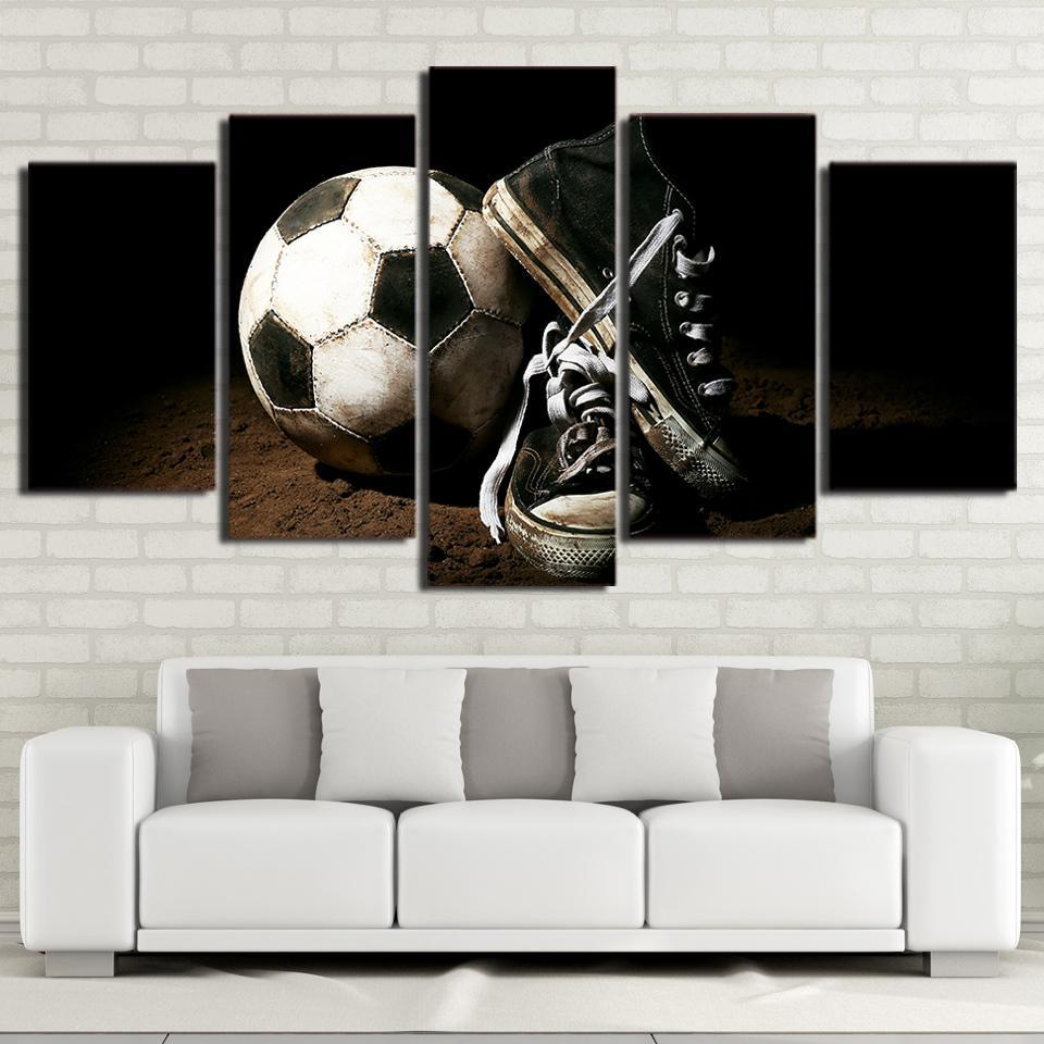 5 Piece Peerless Soccer Canvas   It Make Your Day