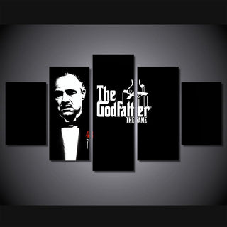 5 Piece Godfather Movie Prints Canvas Wall Art Paintings - It Make Your Day