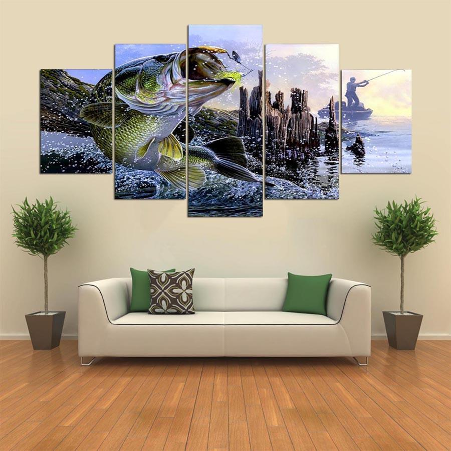 Copy of 5 Panel Dead Man's Boat Shipwreck Canvas Painting Wall Art - It Make Your Day