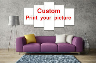 5 Panel Custom Canvas Wall Art - It Make Your Day