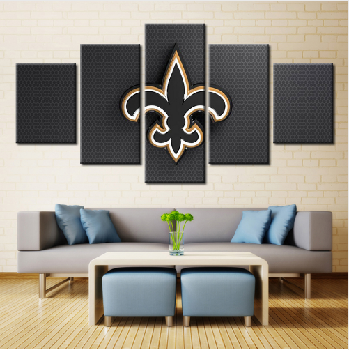 5 Panel New Orleans Saints Football Sport Team Canvas - It Make Your Day