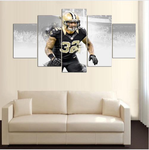 5 Panel New Orleans Saints Player 32 Kenny Vaccaro Canvas - It Make Your Day
