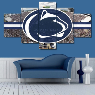 5 Pieces Penn State Nittany Lions Canvas - It Make Your Day