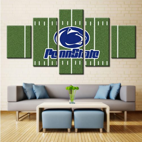 5 Pieces Penn State Nittany Lions Canvas Arts - It Make Your Day
