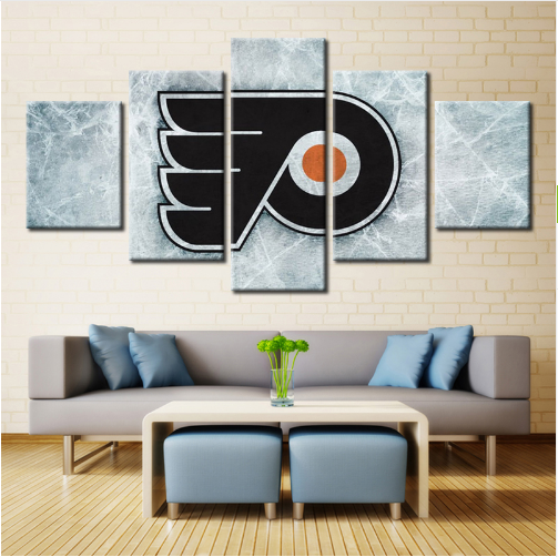 5 Piece Philadelphia Flyers 5 Hockey Canvas - It Make Your Day