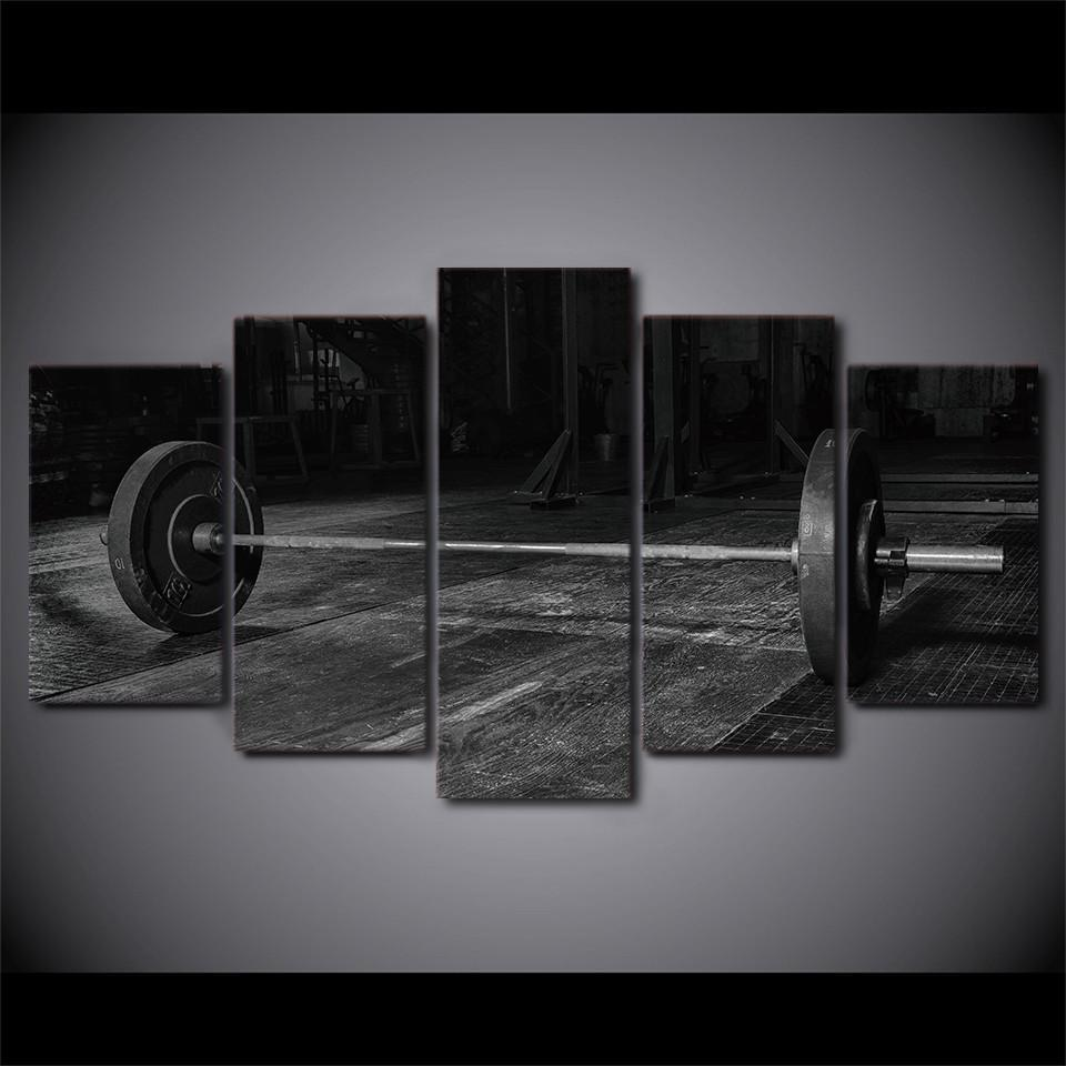 Black And White Weightlifting - It Make Your Day