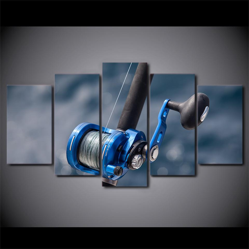 Blue Fishing Rod - It Make Your Day
