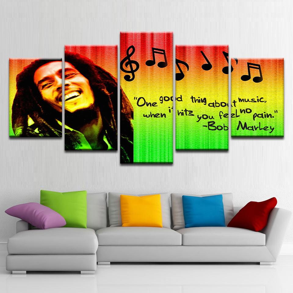 Bob Marley Abstract - It Make Your Day