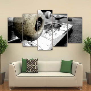 5 Piece Skateboard HD Prints Canvas Wall Art Paintings - It Make Your Day