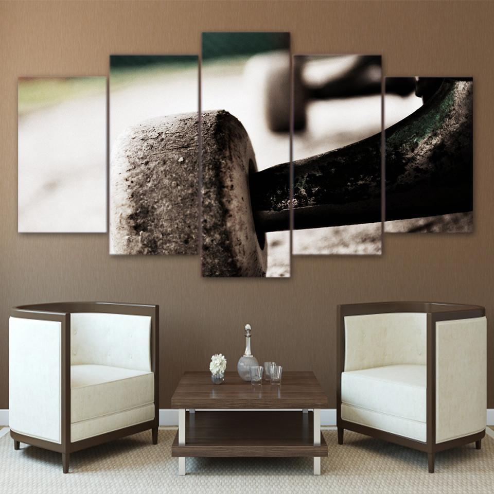 5 Piece Skateboard Wheel Canvas Wall Art Paintings - It Make Your Day