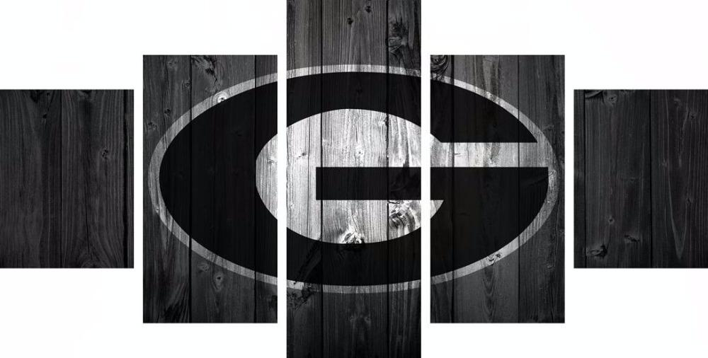 5 Piece Georgia Bulldogs Canvas - It Make Your Day