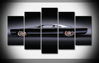 5 Pieces Hot Rod Plymouth Muscle Car Canvas - It Make Your Day