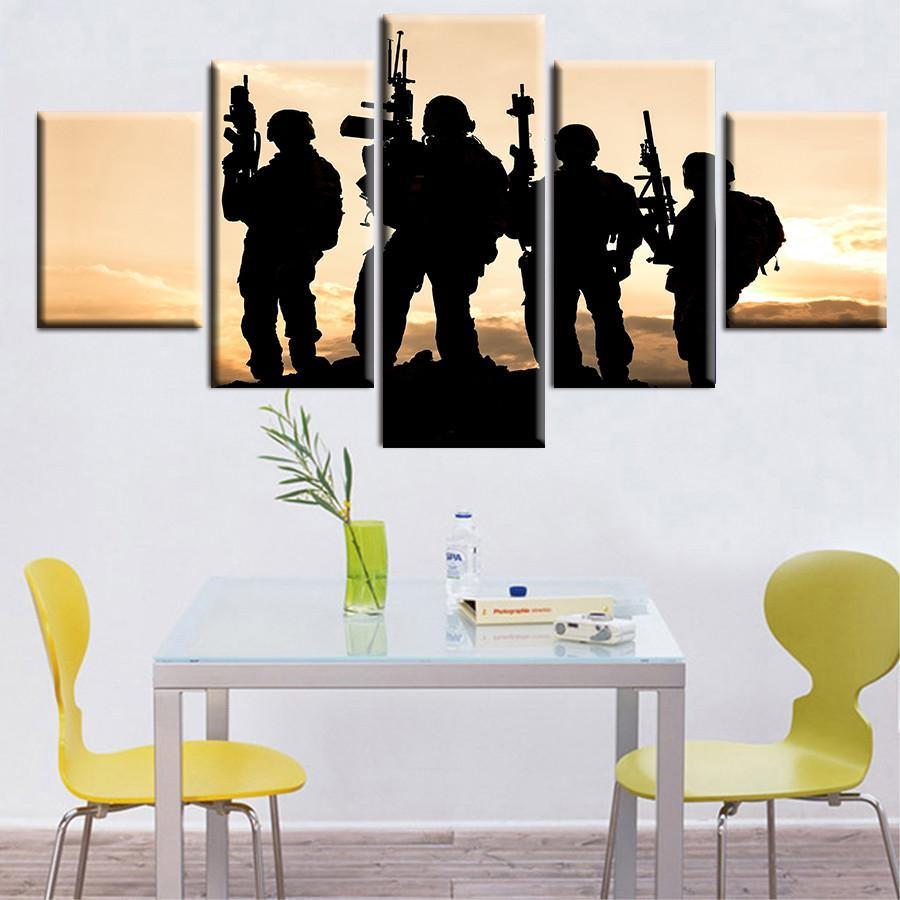 "American ""Army Rangers Sunset"" - It Make Your Day"