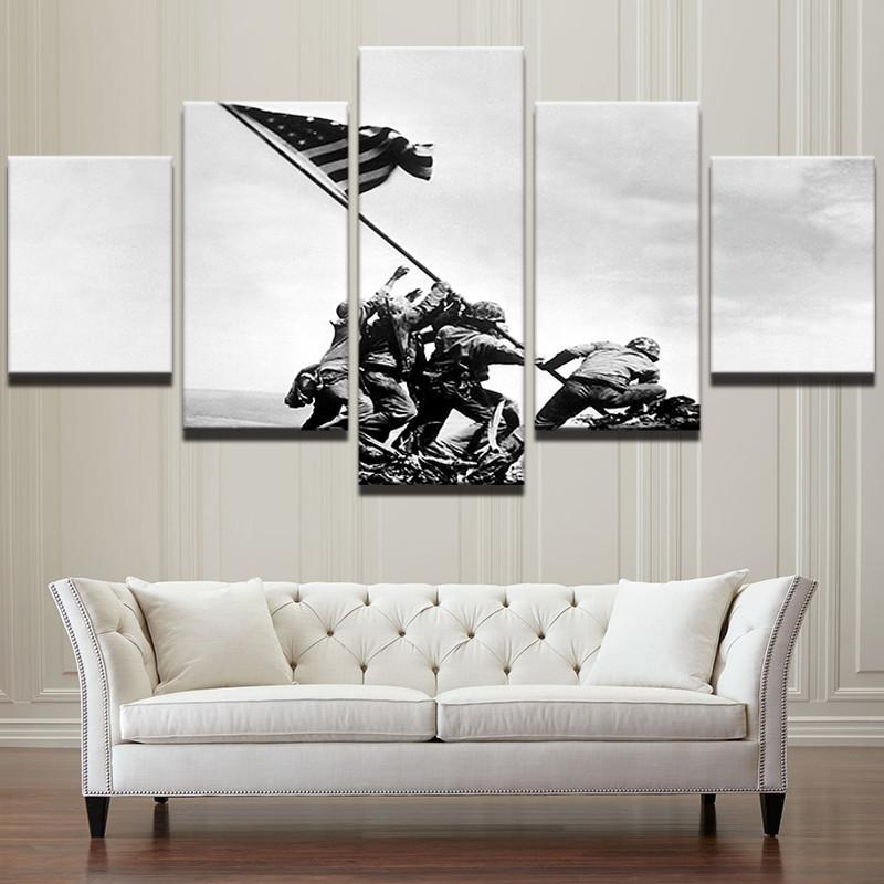 "American Iwo Jima Raising Flag ""Mount Suribachi"" - It Make Your Day"