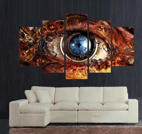 5 Piece Friday The 13th Modern HD Canvas Paintings - It Make Your Day