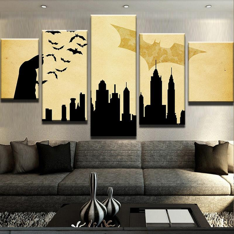 Fantastic Silhouette Wall Decor Ensign - Wall Art Design ...