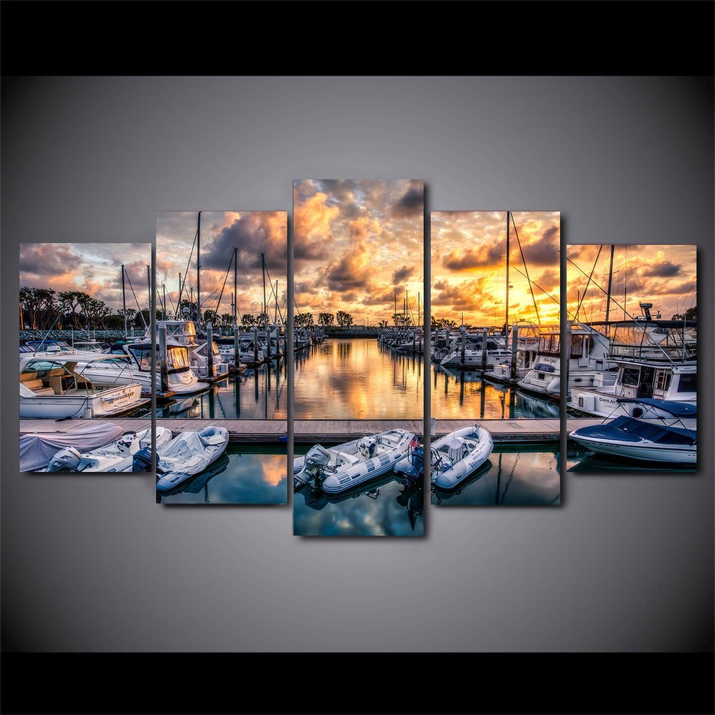Boat Marina - It Make Your Day