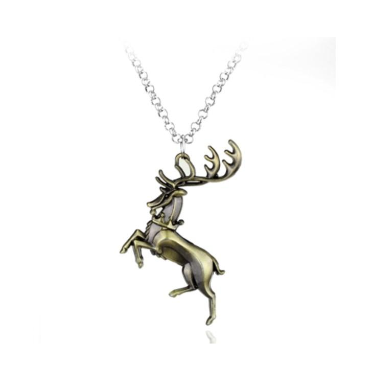 Game of Thrones Stark Family Deer Necklace - It Make Your Day