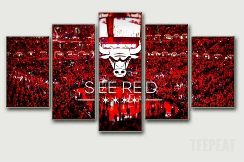 "Chicago Bulls ""A Sea Of Red"" - It Make Your Day"
