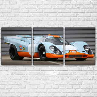 3 Piece Super Racing Car Canvas Wall Art Sets - It Make Your Day