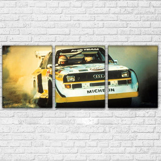 3 Piece Sports Racing Cars Canvas Wall Art Sets - It Make Your Day