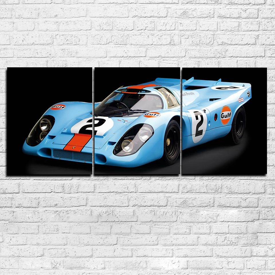 3 Piece Super Racing Sports Car Canvas Wall Art Sets - It Make Your Day
