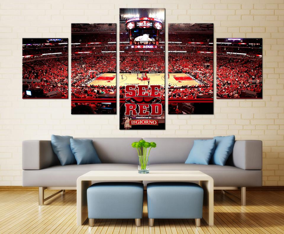 Chicago Bulls Court Basketball - It Make Your Day
