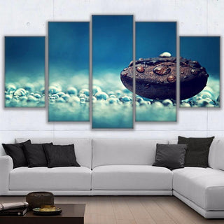 Framed 5 Piece Coffee Collection - Dreamy Bean Canvas - It Make Your Day